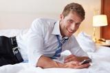 Auch im Hotelzimmer immer online